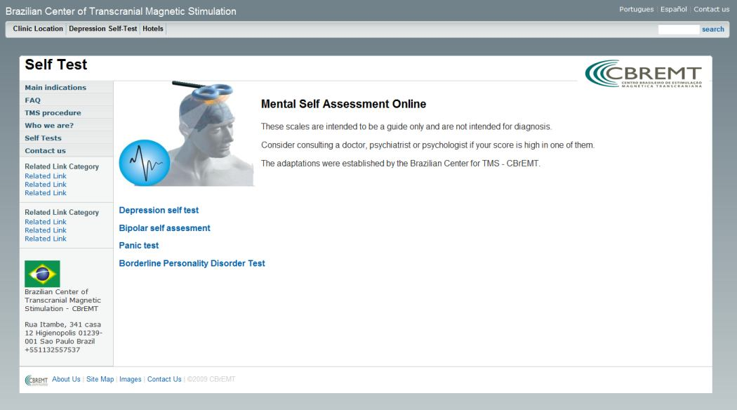 CLICK TO MENTAL SELF ASSESSMENT ONLINE